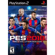 Đĩa game Ps2 :Pes 2018