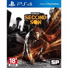 Đĩa game PS4: Infamous: Second Son