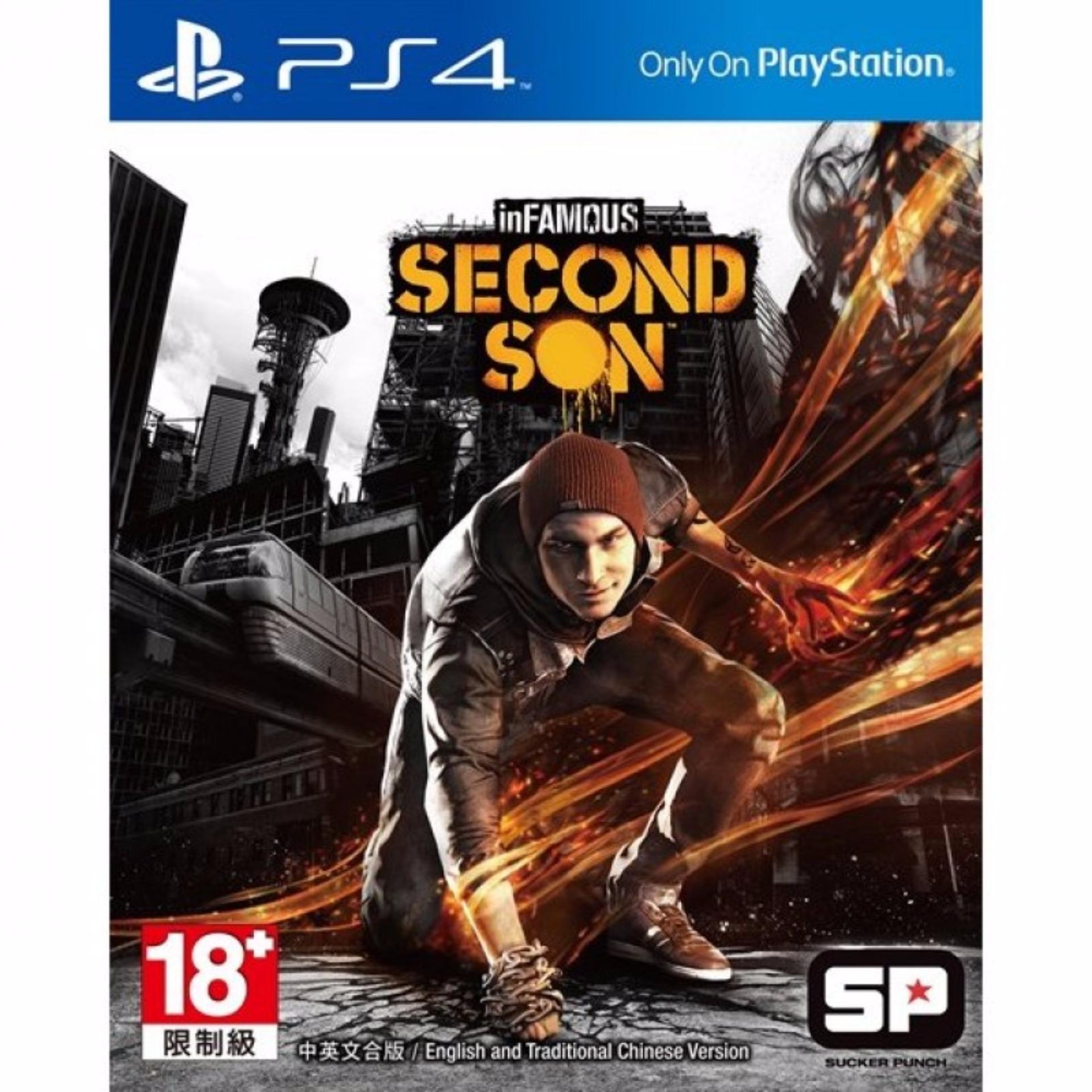 Đĩa game PS4: Infamous: Second Son
