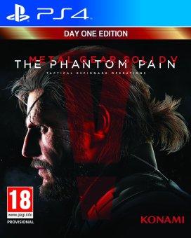 Đĩa Game PS4 - Metal Gear Solid V The Phantom Pain