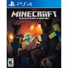 Đĩa game PS4: Minecraft PlayStation 4 Edition