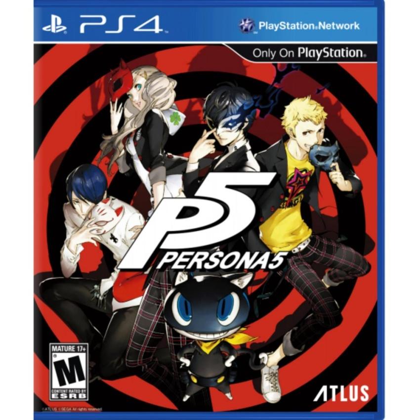 ĐĨA GAME PS4 PERSONA 5 ( US)