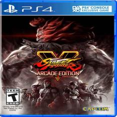 Đĩa Game PS4 – Street Fighter V: Arcade Edition
