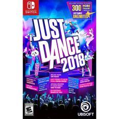 Đĩa Game Switch Just Dance 2018