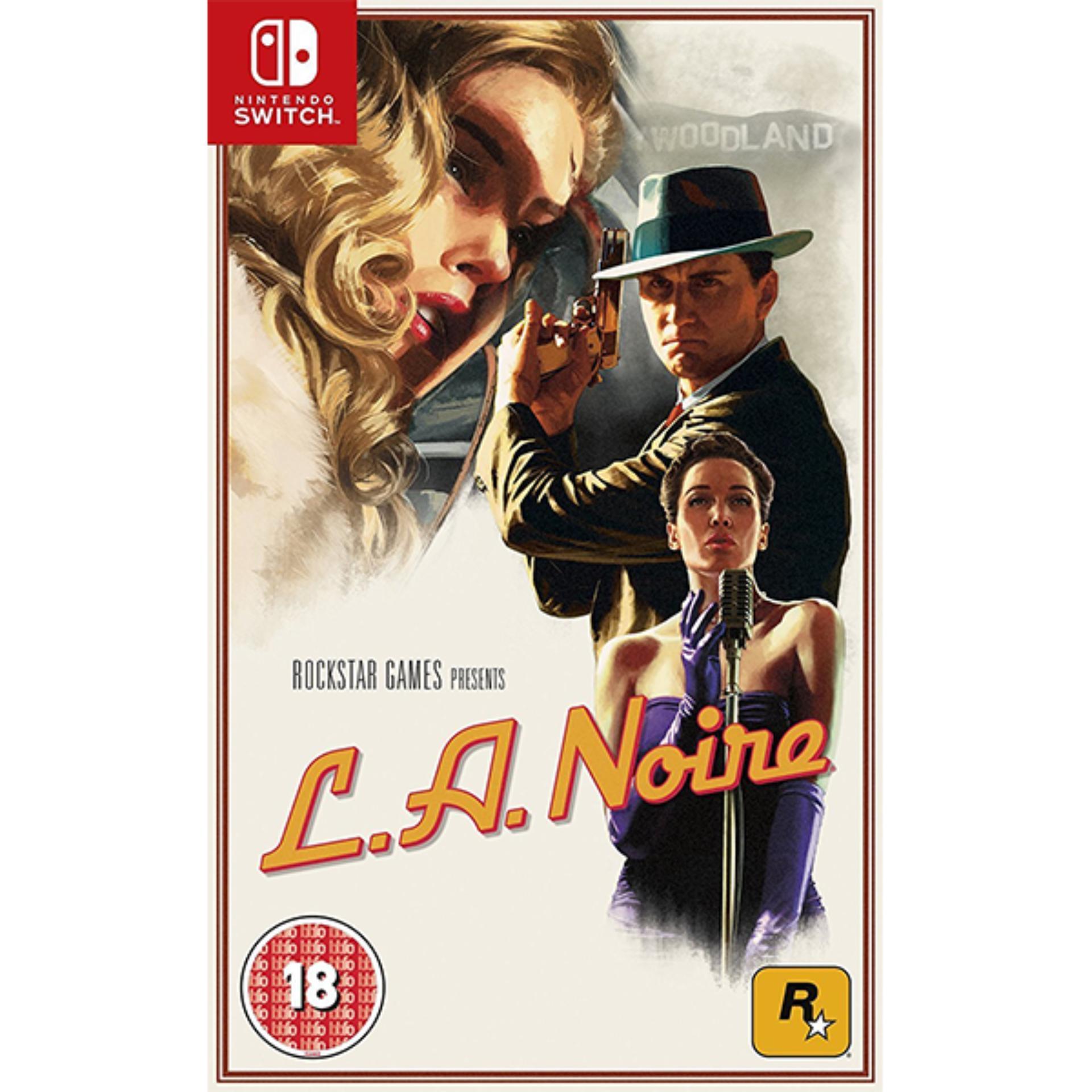 Đĩa Game Switch LA Noire