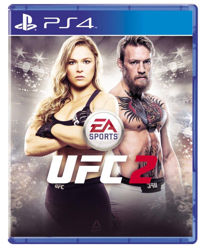 Đĩa game UFC 2 dành cho PS4