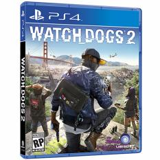 Đĩa game Watch Dogs 2 dành cho PS4