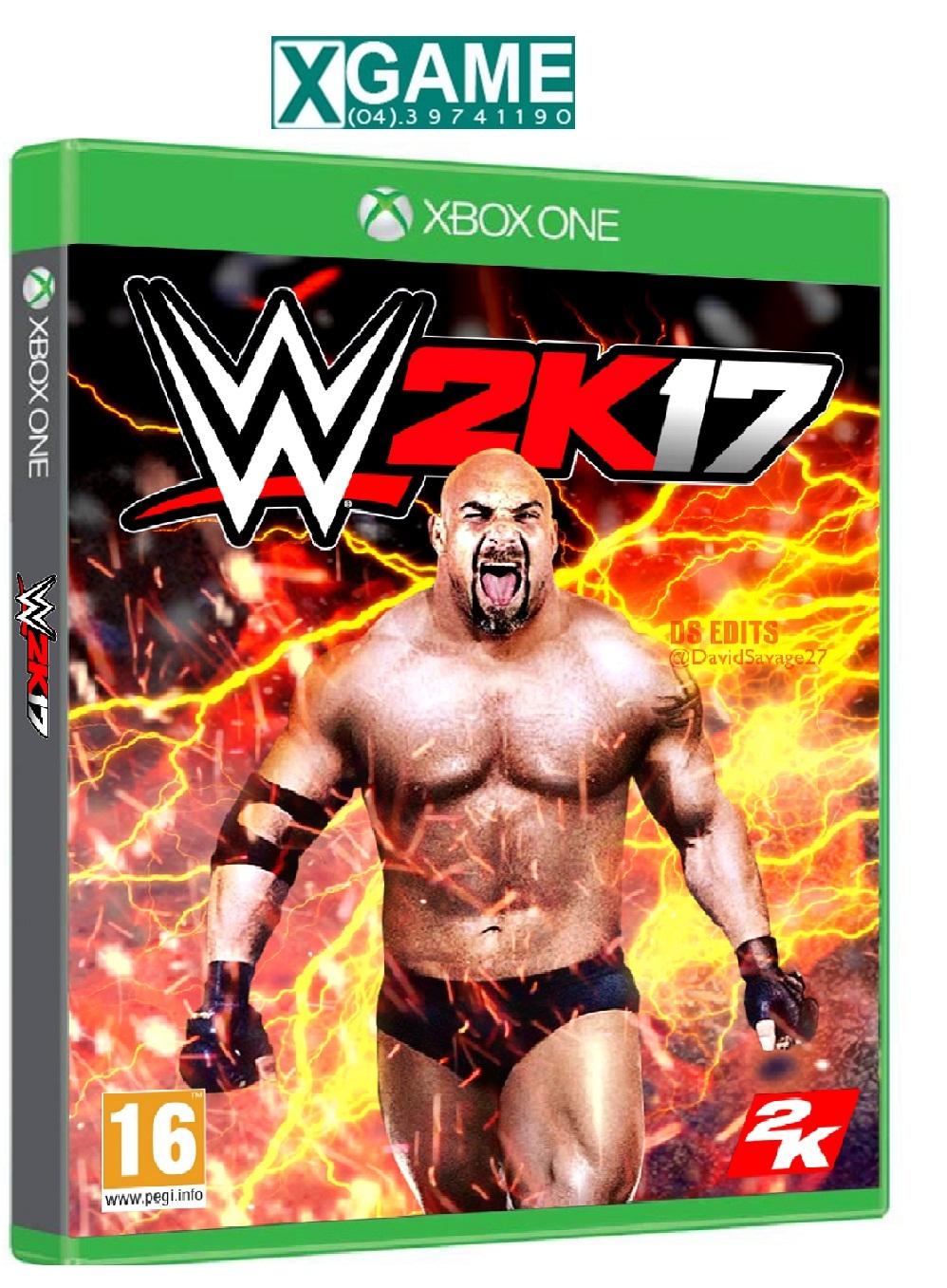 Nơi mua Đĩa game WWE 2K17 cho PS4
