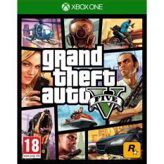 Đĩa Game Xbox One GTA V.