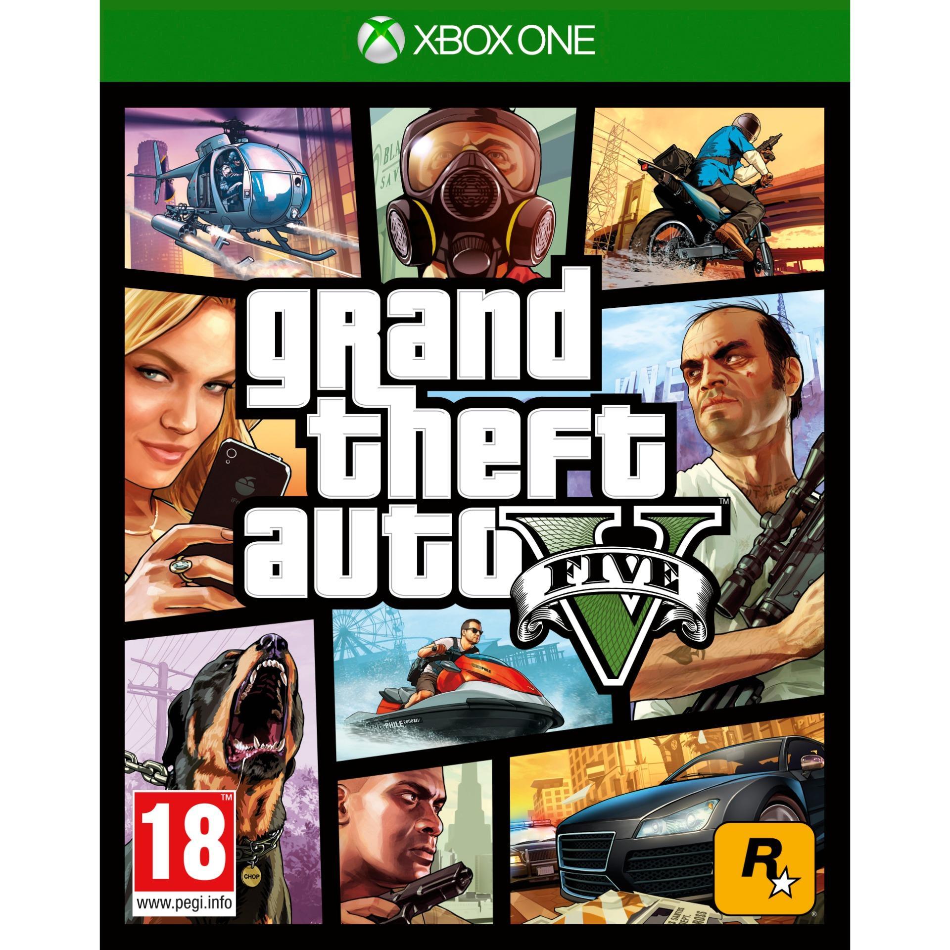 Ở đâu bán Đĩa Game Xbox One GTA V