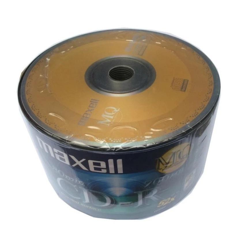 Mua Bộ 50 Đĩa Trắng CD – R Maxell Ghi 4x – 52X ở đâu tốt?