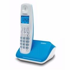 Điện thoại bàn không dây Uniden AT4101 Trắng – Xanh
