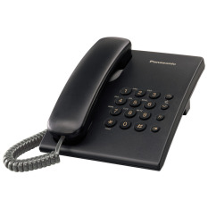 Điện thoại bàn Panasonic KX-TS500 (Đen)