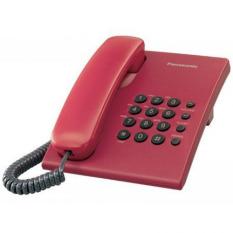 Điện thoại bàn Panasonic KX-TS500 (Đỏ)