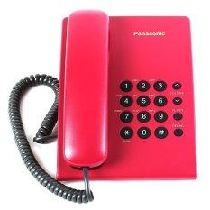 Điện thoại bàn Panasonic TS 500 (Đỏ)