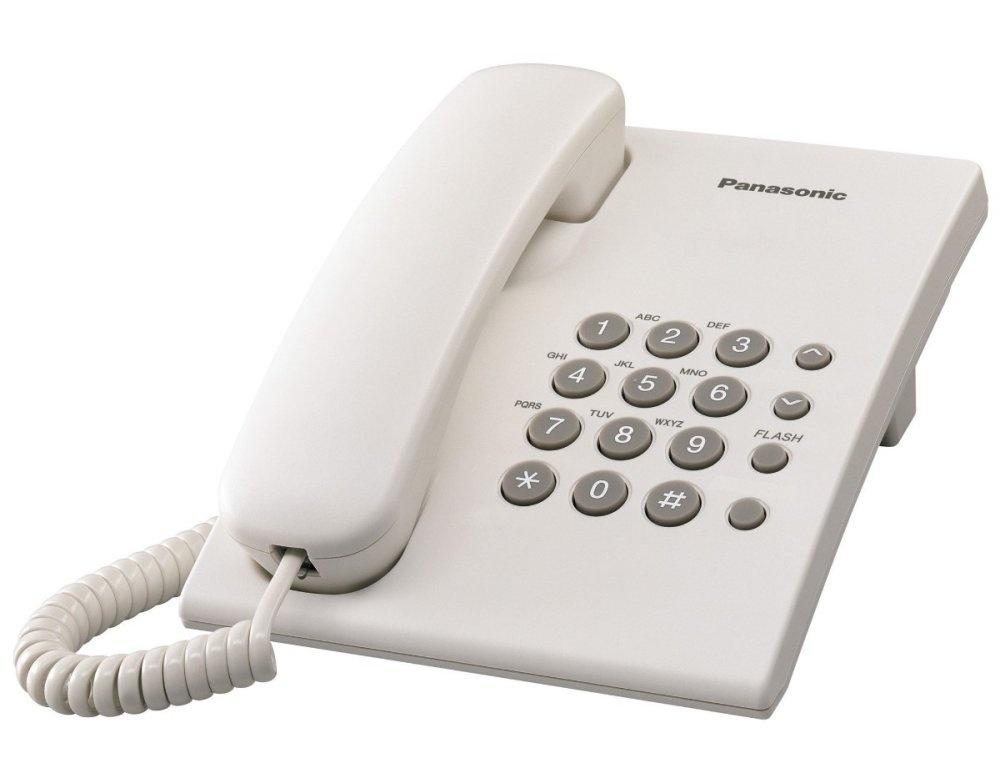 Điện thoại bàn Panasonic TS 500 (Trắng)