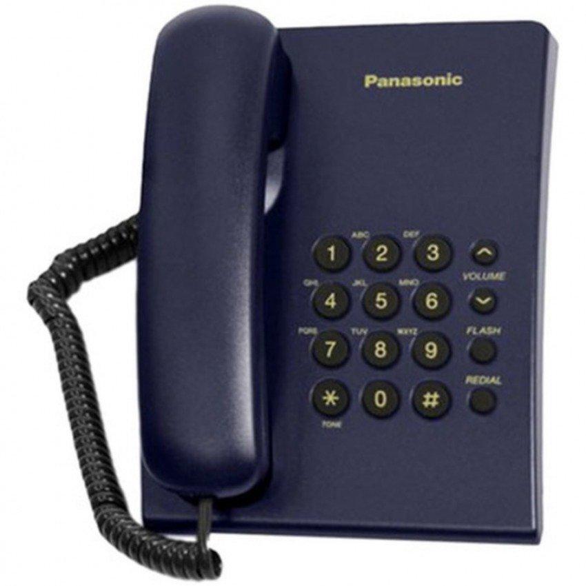 Điện thoại bàn Panasonic TS 500 (Xanh)