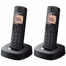 Điện thoại kéo dài KX-TGC312 với 2 tay con cầm tay không dây