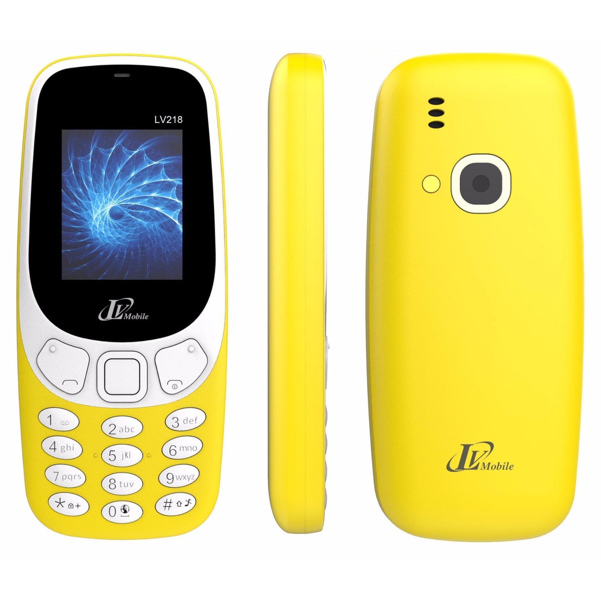Điện thoại LV218 mới- Hàng nhâp khẩu Bảo hành 12 tháng Full box