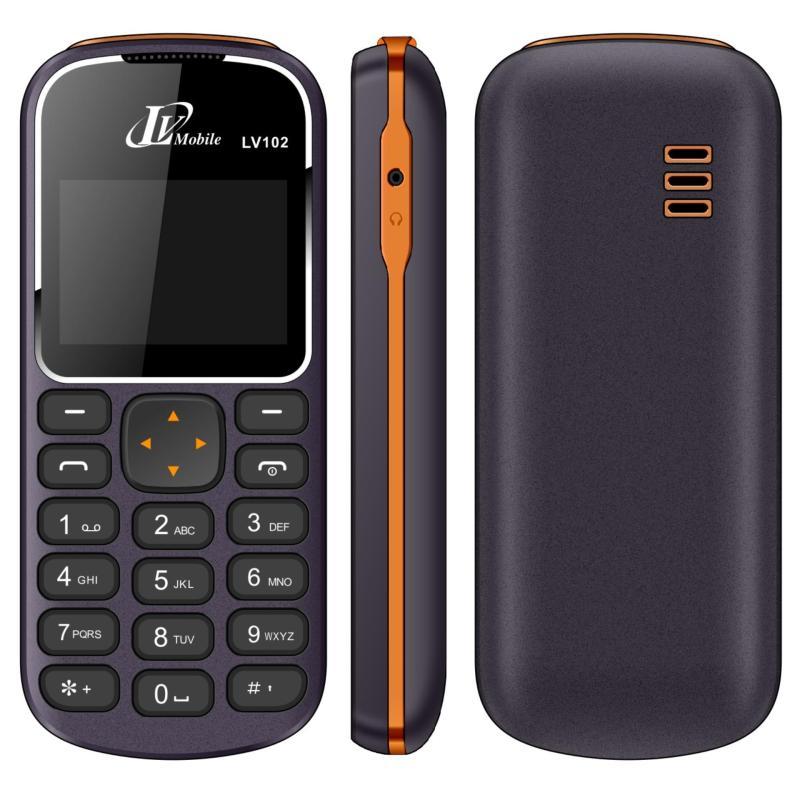 Điện thoại LV102 1 sim ( Xanh đen)- Hàng nhập khẩu