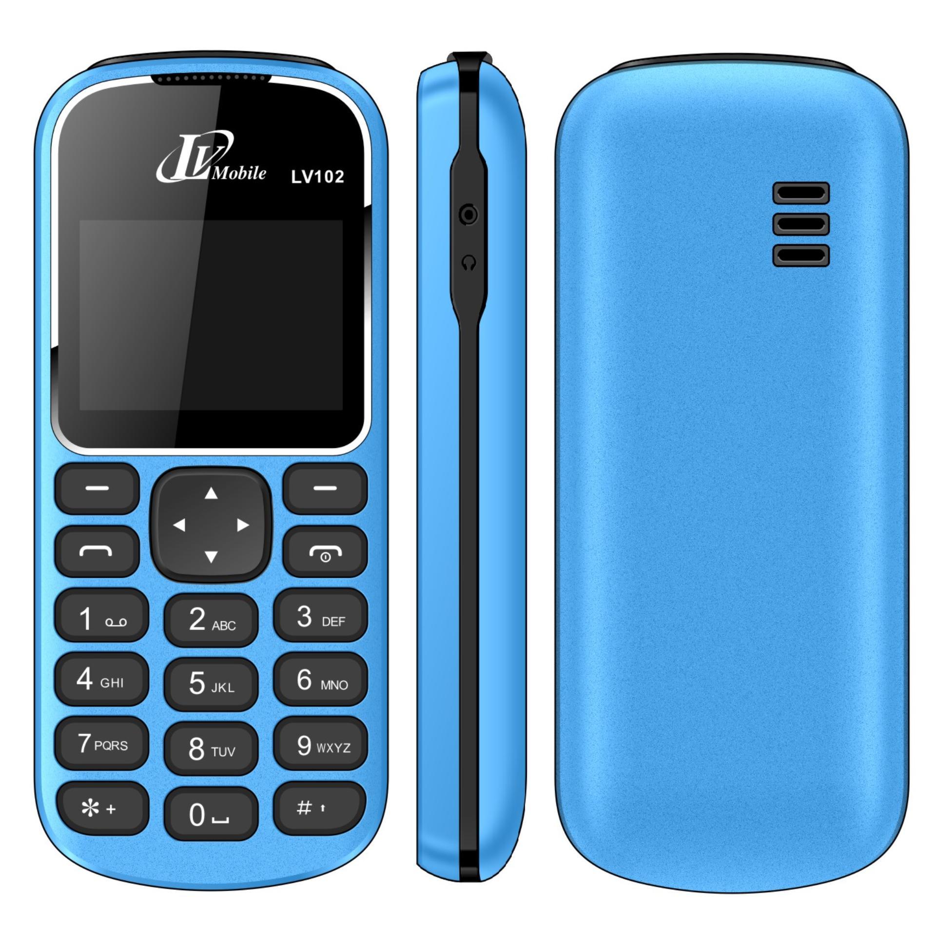 Bảng Giá Điện thoại LV102 1sim ( Xanh dương)- Hàng nhập khẩu