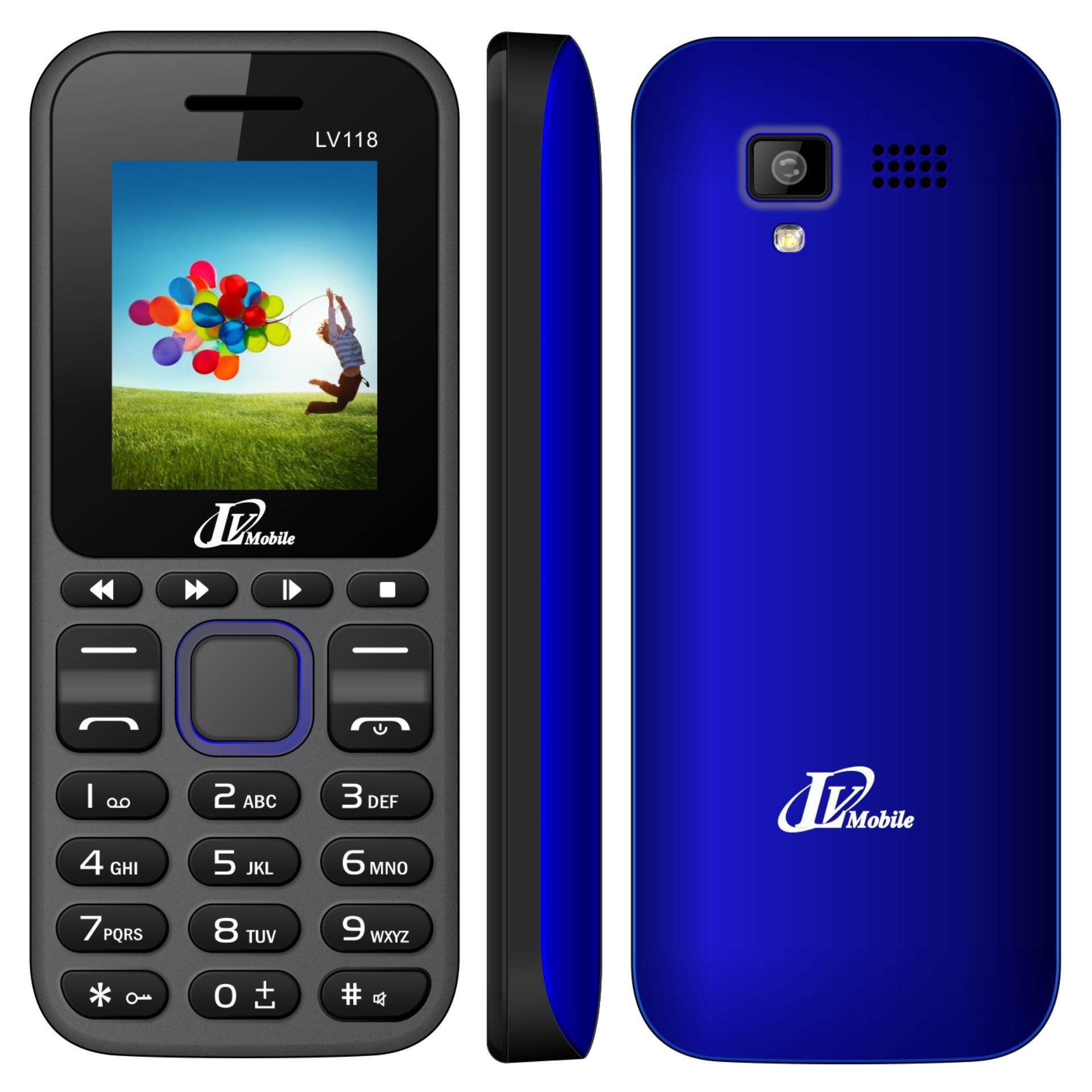 Trang bán Điện thoại LV118 2sim ( Xanh)- Hàng nhập khẩu