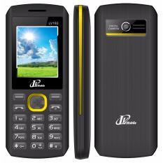Điện thoại LV183 2sim ( Đen viền vàng)- Hàng nhập khẩu