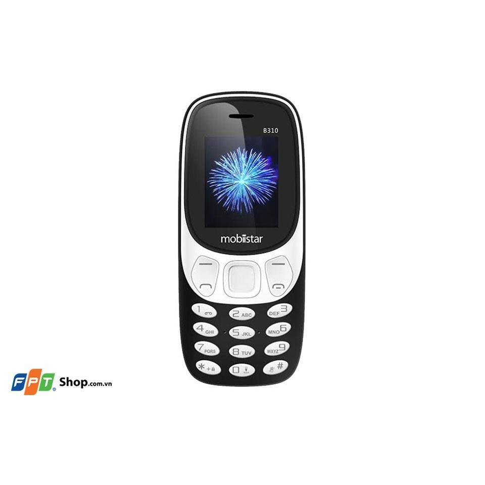 Điện thoại Mobiistar B310 – Hàng nhập khẩu Full box Bảo hành 12 tháng lỗi là đổi 30 ngày
