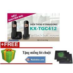Điện thoại Panasonic KX-TGC412 Panasonic kx tgc412 không dây