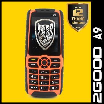 Điện thoại pin khủng 2GOOD A9 - 2 SIM - 7800 mAh (Cam phối đen)