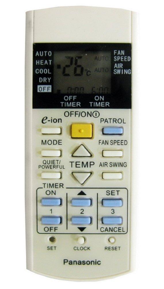 Điều khiển dùng cho máy điều hòa Panasonic (Trắng)