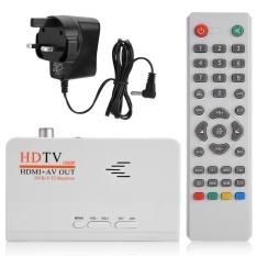 Kỹ thuật số 1080 p HD HDMI DVB-T2 TV Box Bắt Sóng Thu Chuyển Đổi Điều Khiển từ xa (ANH)-quốc tế
