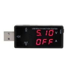 Màn hình hiển thị USB đa năng bút thử 3 v-30 v Mini Điện Áp Dòng Điện Sạc-intl