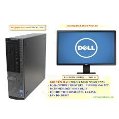 Đồng Bộ Dell Optiplex 9010 ( Core I5 3450 /8G/SSD 128G ),Màn hình Dell 19″ Wide LED – Hàng Nhập Khẩu (Đen)