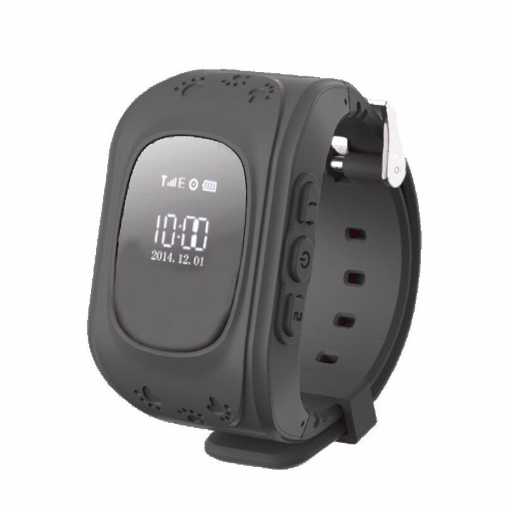 Đồng hồ GPS Smartwatch định vị giám sát trẻ em thông minh (Màu đen)