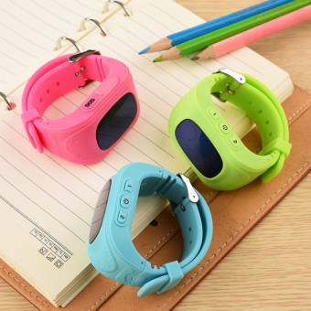 Đồng hồ định vị trẻ em GPS Smartwatch ( Xanh) - 5