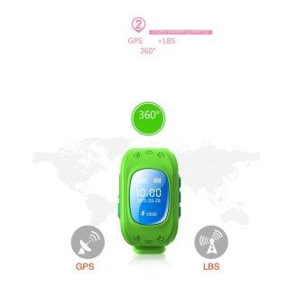 Đồng hồ định vị trẻ em GPS Smartwatch ( Xanh) - 4