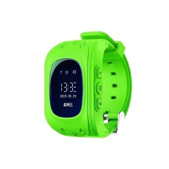 Đồng hồ định vị trẻ em thông minh Q50 (Xanh lá cây)