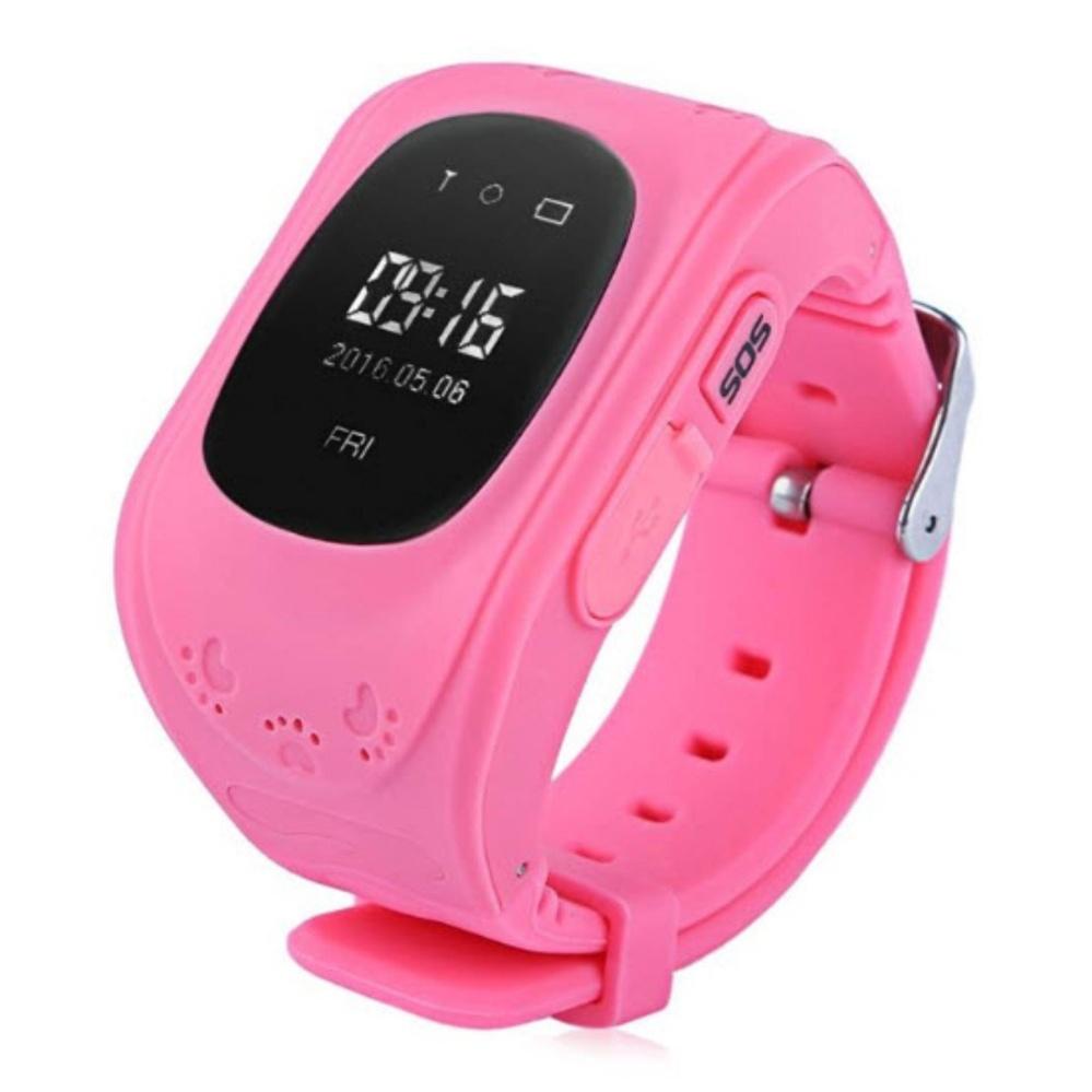 Đồng hồ định vị trẻ em thông minh DCR-Q50 (Hồng) – Kmart