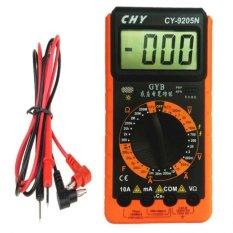 Đồng hồ đo vạn năng CHY CY-9205N (Đen phối cam)