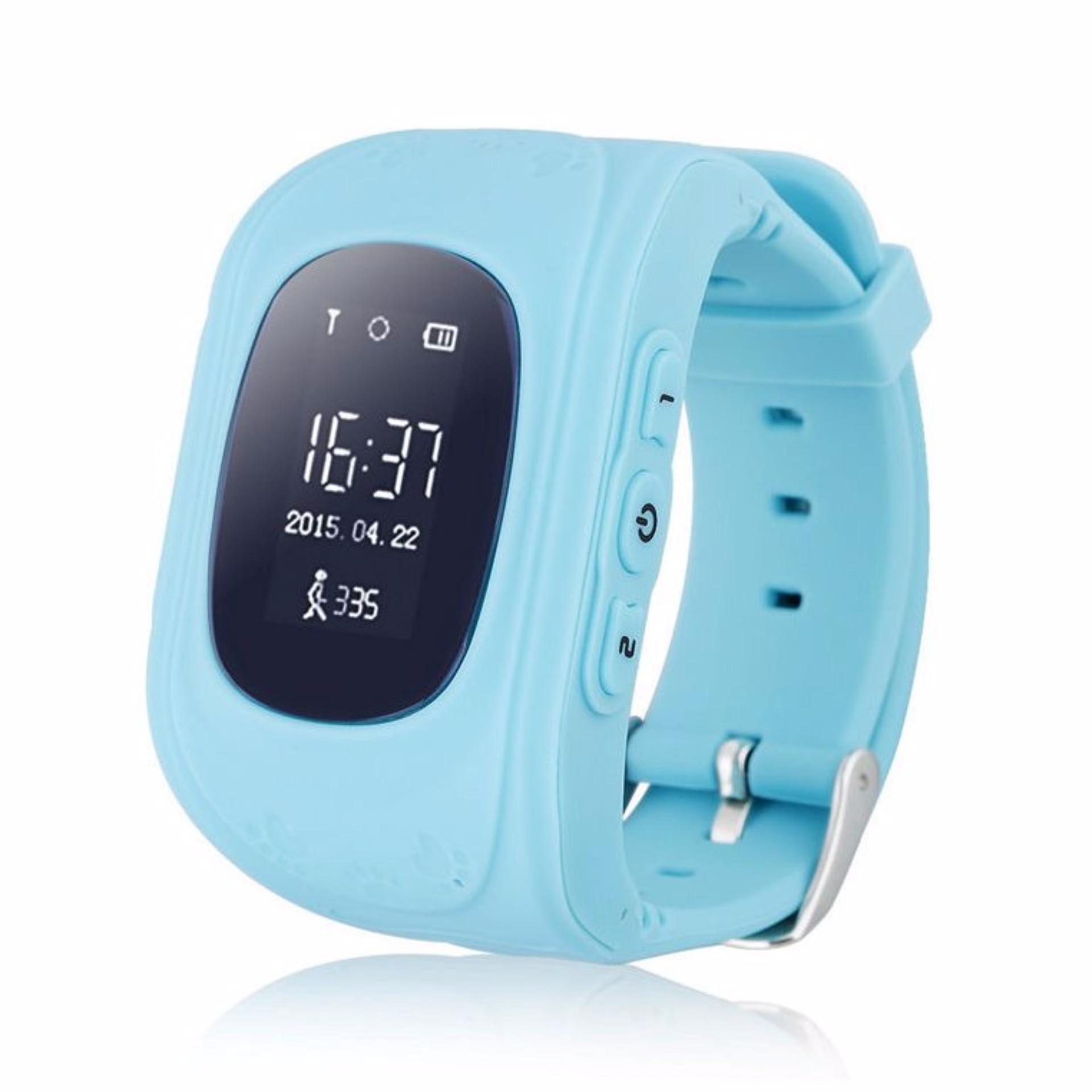 Đồng hồ giám hộ trẻ em thông minh Smartwatch (Xanh Dương)