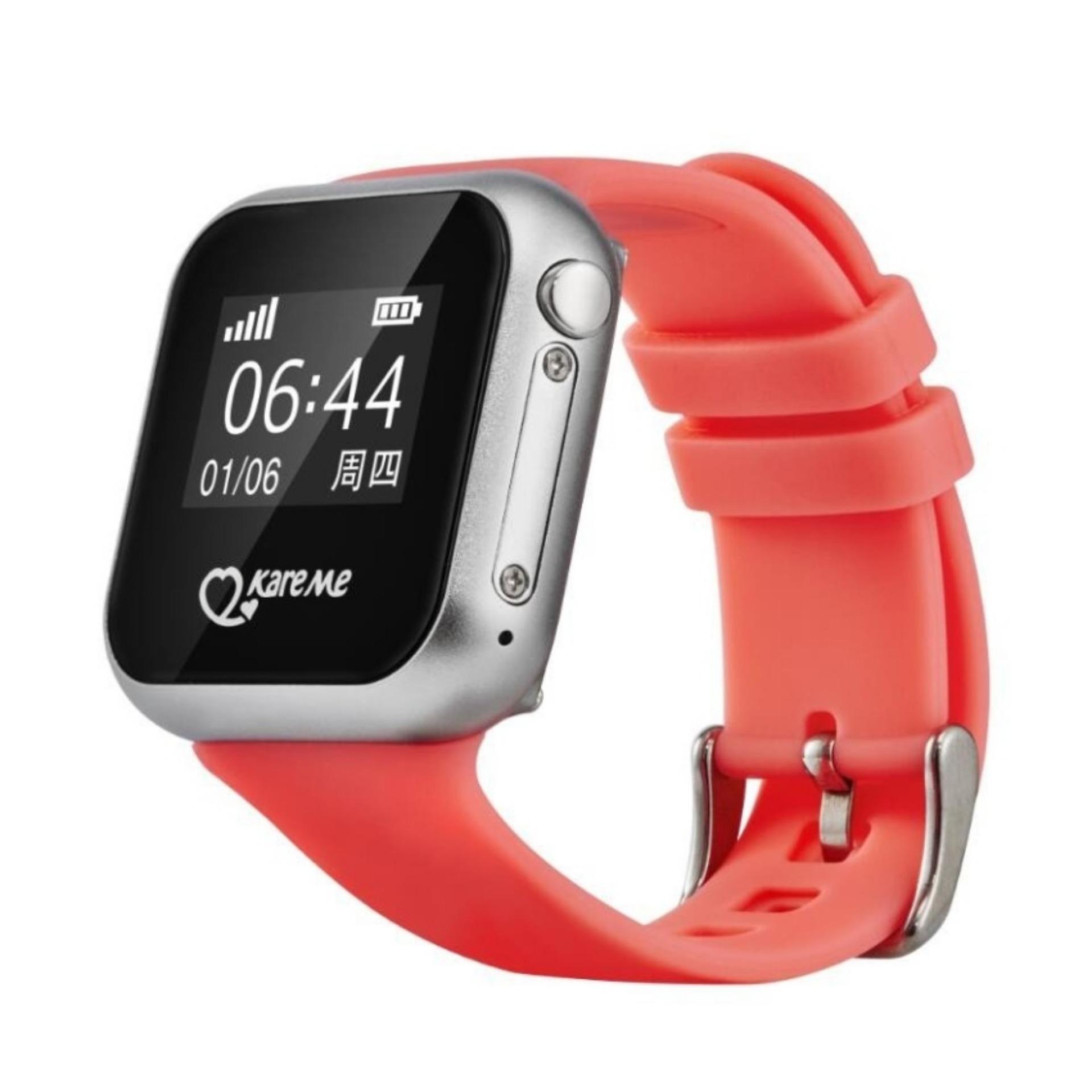 Đồng hồ thông minh GPS giám sát trẻ em Kare Me PT03 (Hồng)