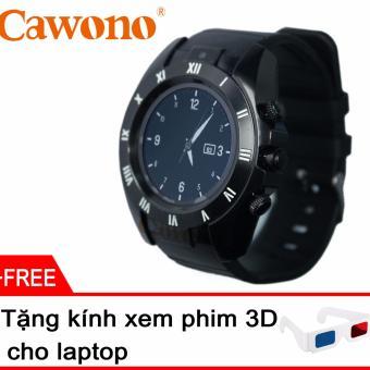 Đồng hồ thông minh mặt tròn Cawono Z5 + Tặng kính giấy xem phim 3D