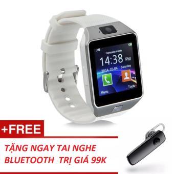 Đồng hồ thông minh Smart Watch Uwatch DZ09 tặng tai nghe bluetooth siêu hot