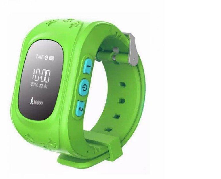 Đồng hồ thông minh trẻ em định vị GPS Smartwatch Q50 (Xanh lá)