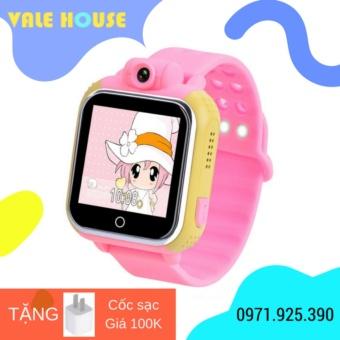 Đồng hồ thông minh trẻ em VALE A10 (Hồng phấn)