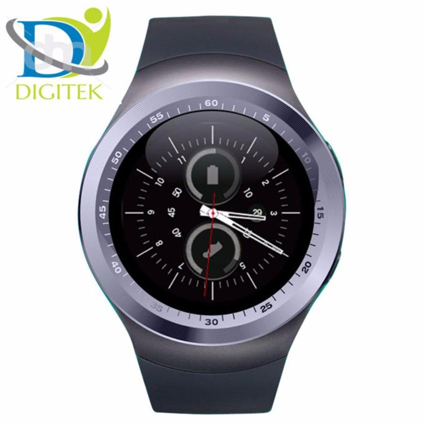 Hình ảnh Đồng hồ thông minh Y1 mặt tròn, lắp sim thẻ nhớ (đen)