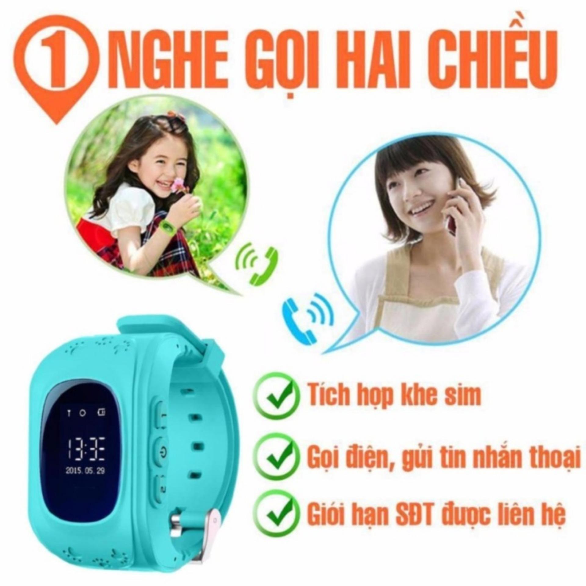 Giá KM Đồng hồ trẻ em thông minh nghe gọi định vị GPS