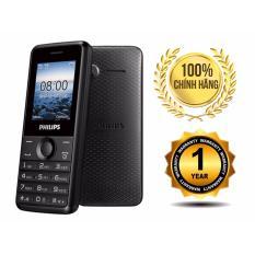 ĐTDĐ Philips E103 2 SIM 2 Sóng Đa Tính Năng(Đen)
