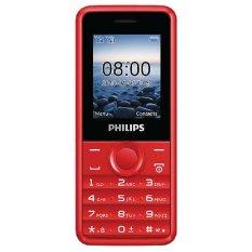 ĐTDĐ Philips E103 2 SIM (Đỏ) – Hãng phân phối chính thức